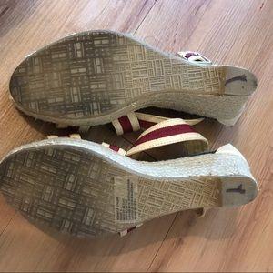 Tommy Hilfiger Shoes - Tommy Hilfiger espadrille sandal •red/blue•8•EUC